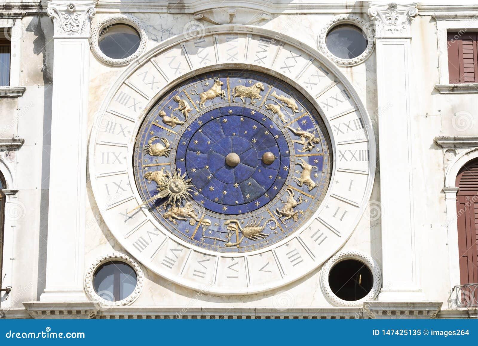 Horloge de zodiaque ? Venise