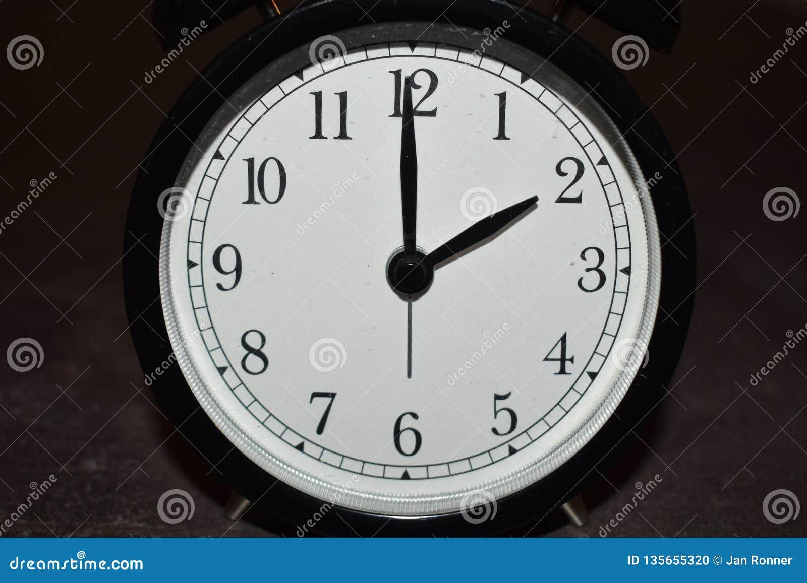 Horloge indiquant différentes périodes