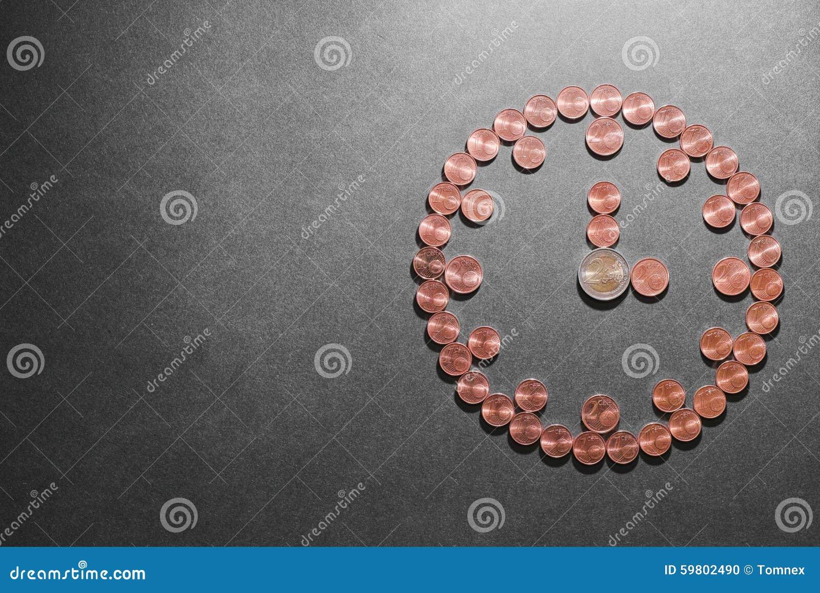 Horloge jumelle de cloche avec de l argent