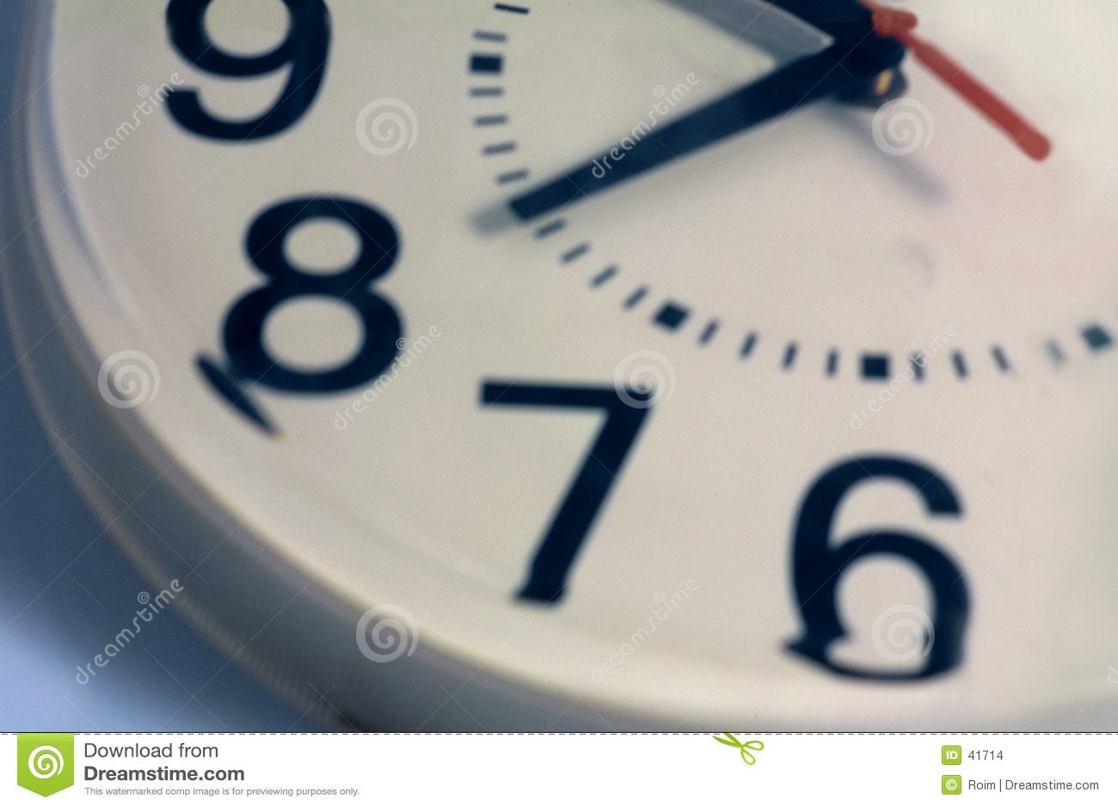 Horloge six neuf