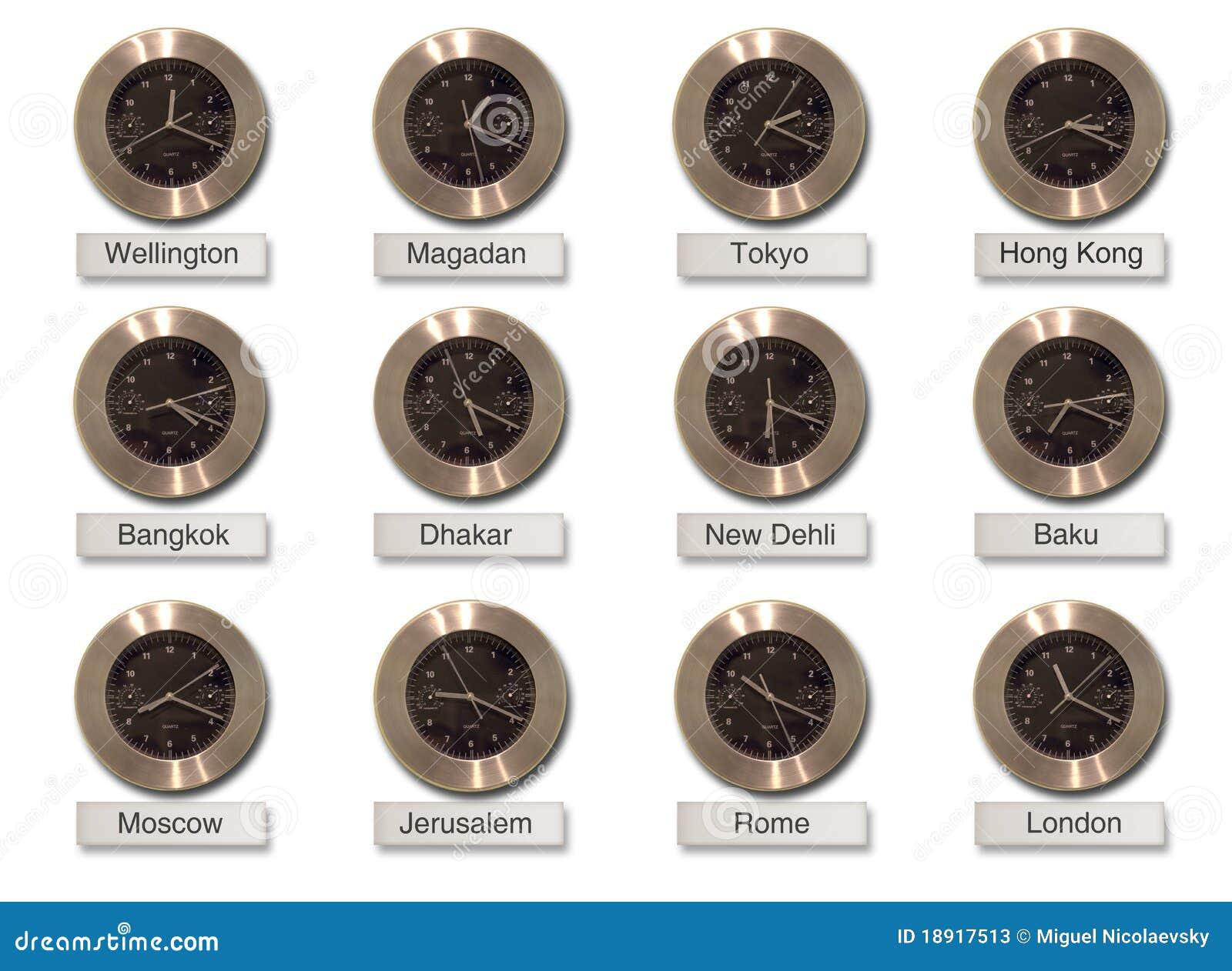Horloges Des Villes Du Monde