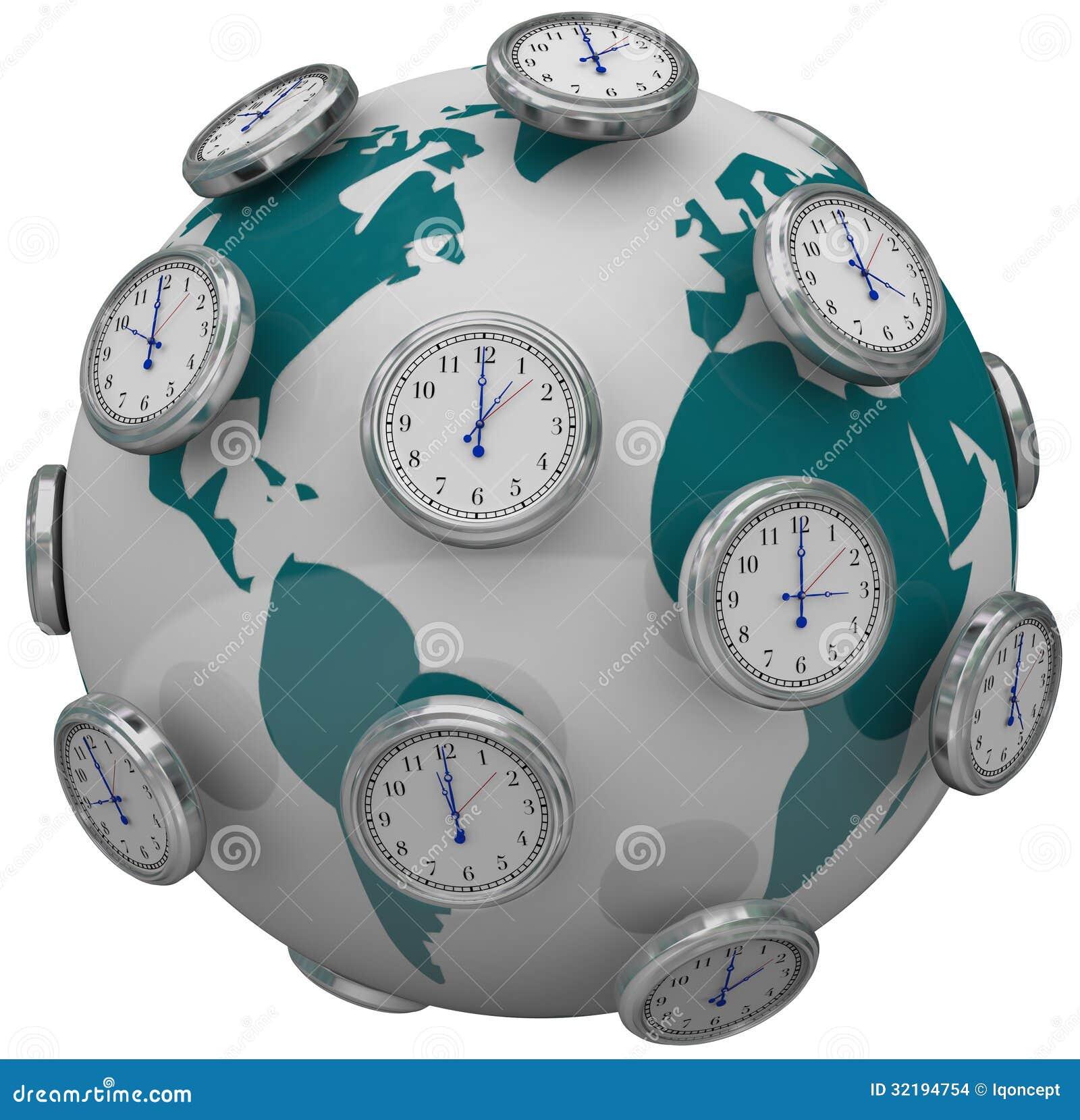 horloges internationales de fuseaux horaires autour de voyage global du monde images stock. Black Bedroom Furniture Sets. Home Design Ideas