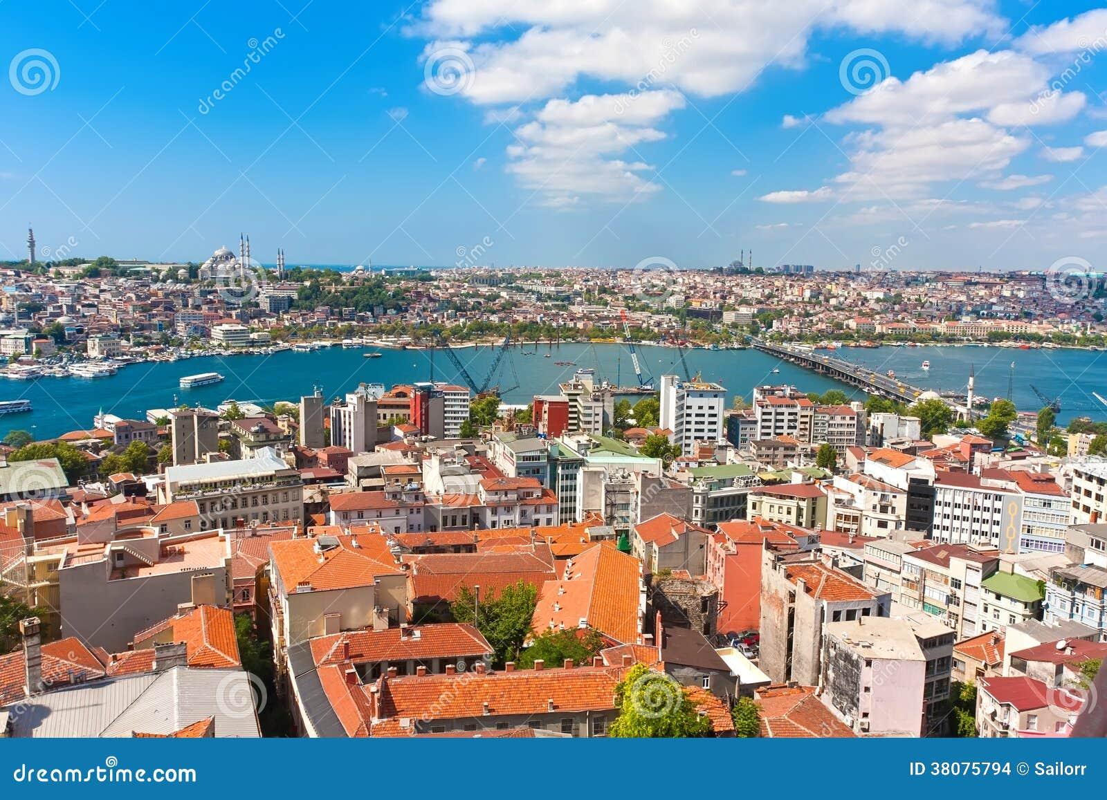 Horn dorato a Costantinopoli