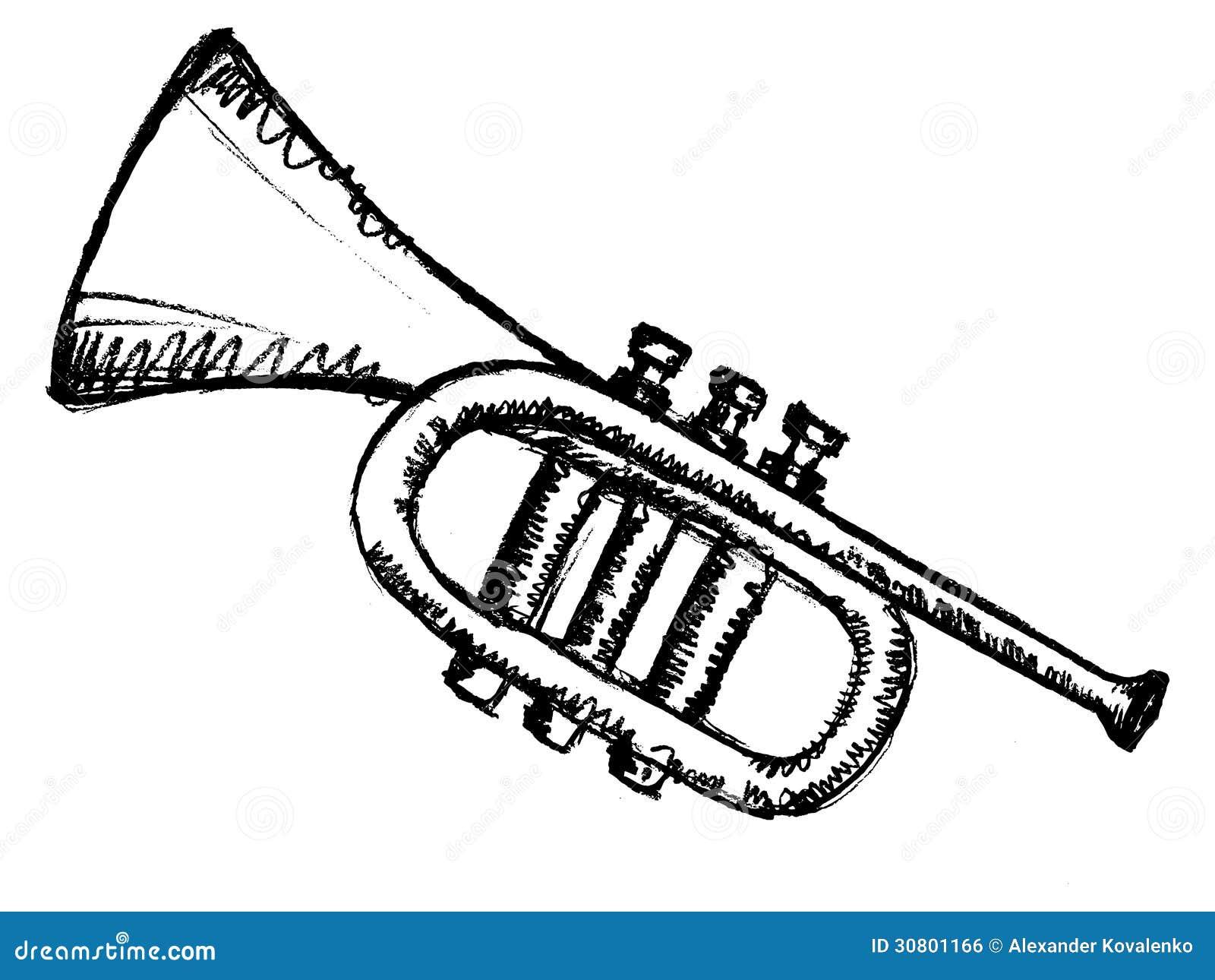 horn musical instrument royalty free stock image image. Black Bedroom Furniture Sets. Home Design Ideas