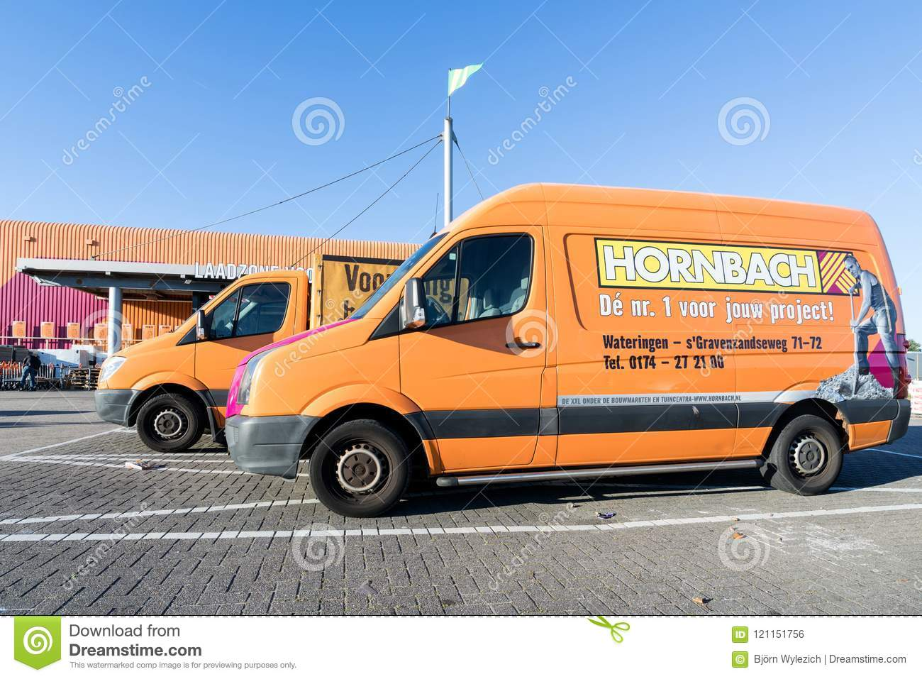 Hornbach vans at store editorial photo image of delivery 121151756 hornbach is a german diy store chain offering home improvement and do it yourself goods solutioingenieria Gallery