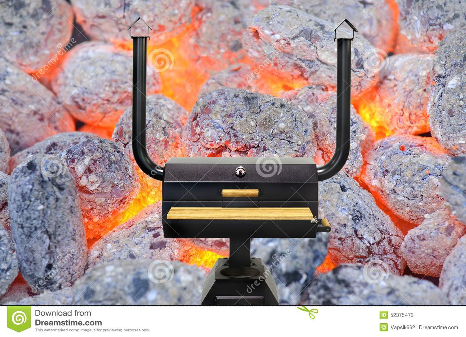 Horno de cocinar multifuncional carb n de le a que brilla - Cocinar en horno de lena ...