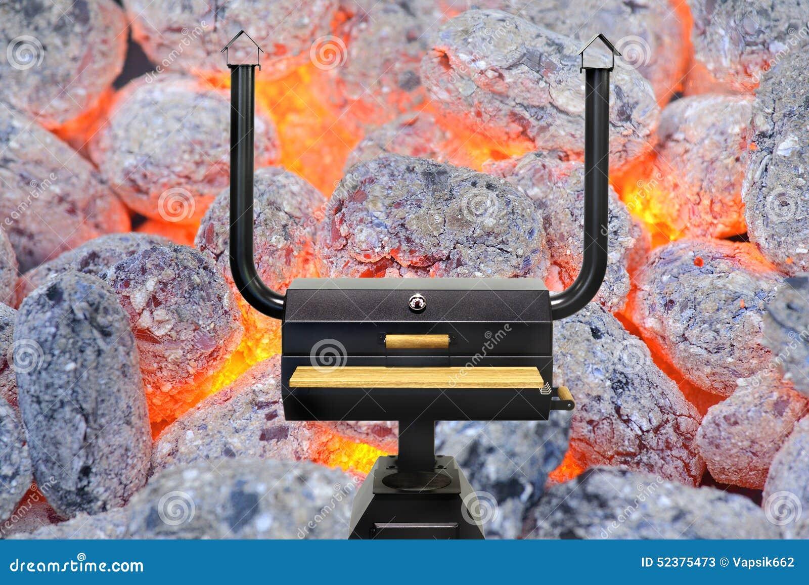 Horno de cocinar multifuncional carb n de le a que brilla - Cocinar horno de lena ...