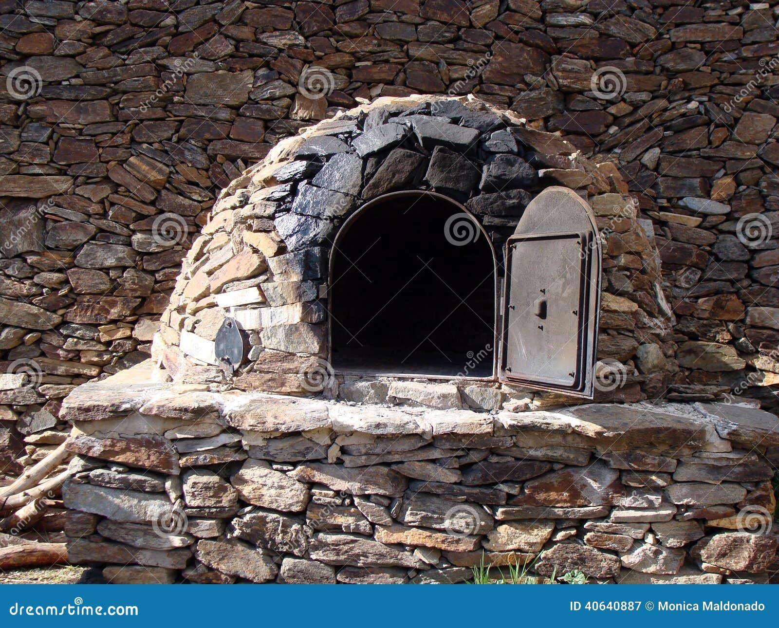 Horno De Piedra 225 Rabe Imagen De Archivo Imagen De