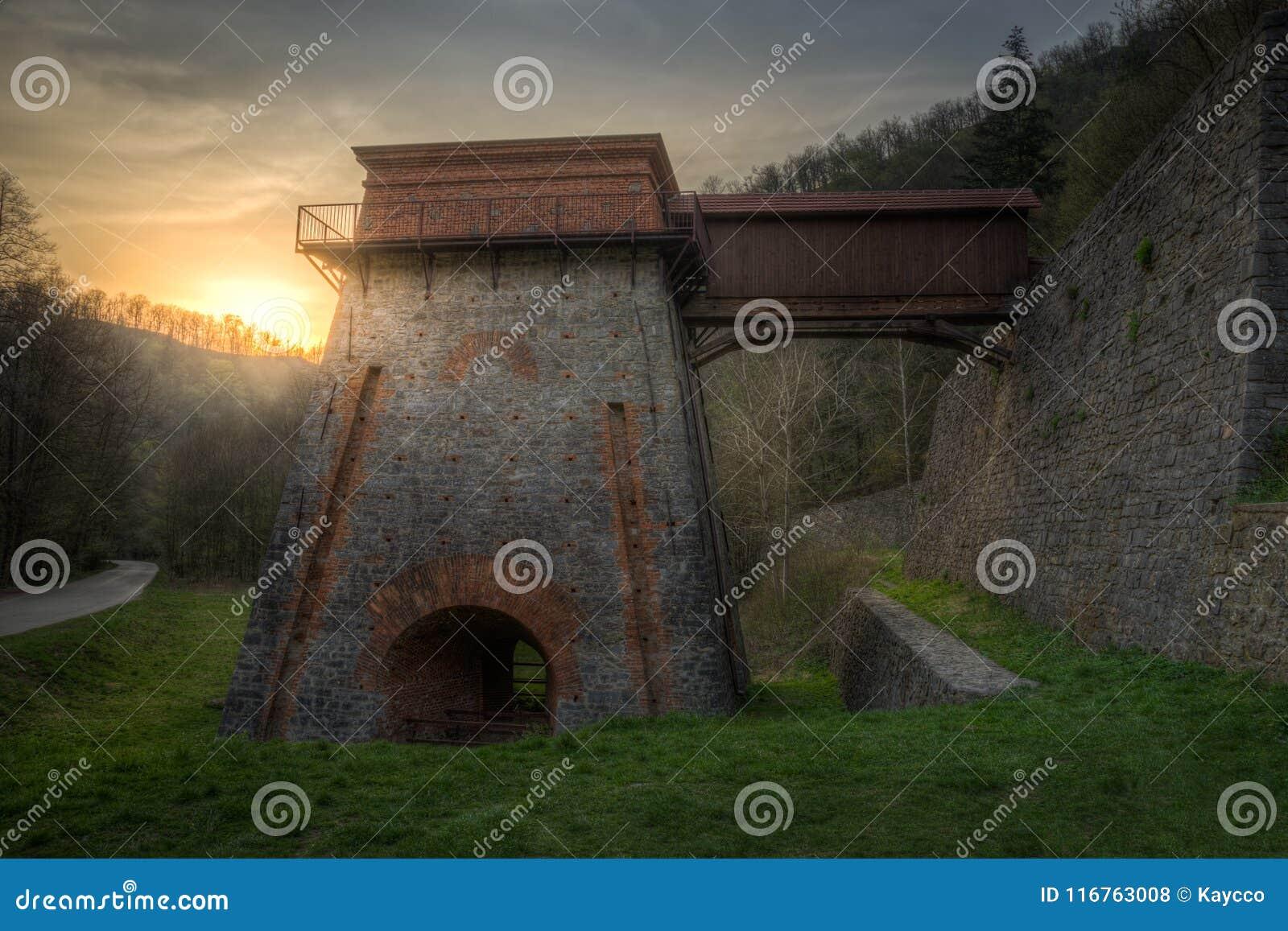 Horno viejo cerca de Adamov