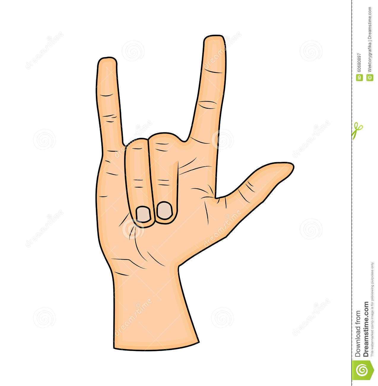 Devil horns hand gesture stock illustrations 133 devil horns horns hand satan sign finger up gesture vector on white background realistic buycottarizona