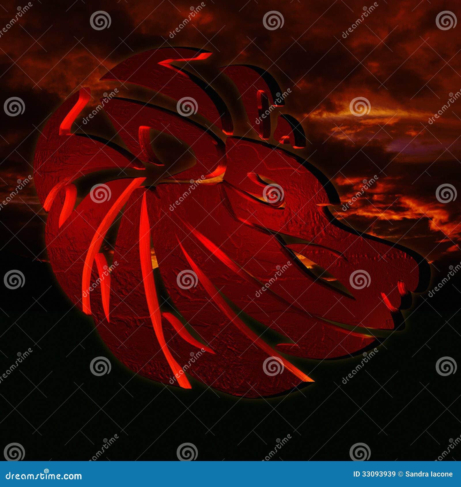 Horoscope Leo Royalty Free Stock Images