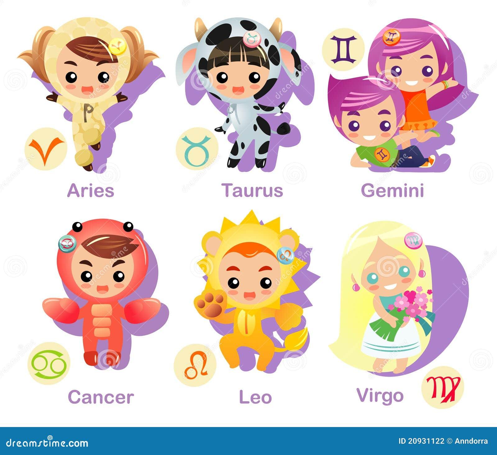 Horoscope Signs Icon Set Part 1 Stock Photography - Image ...