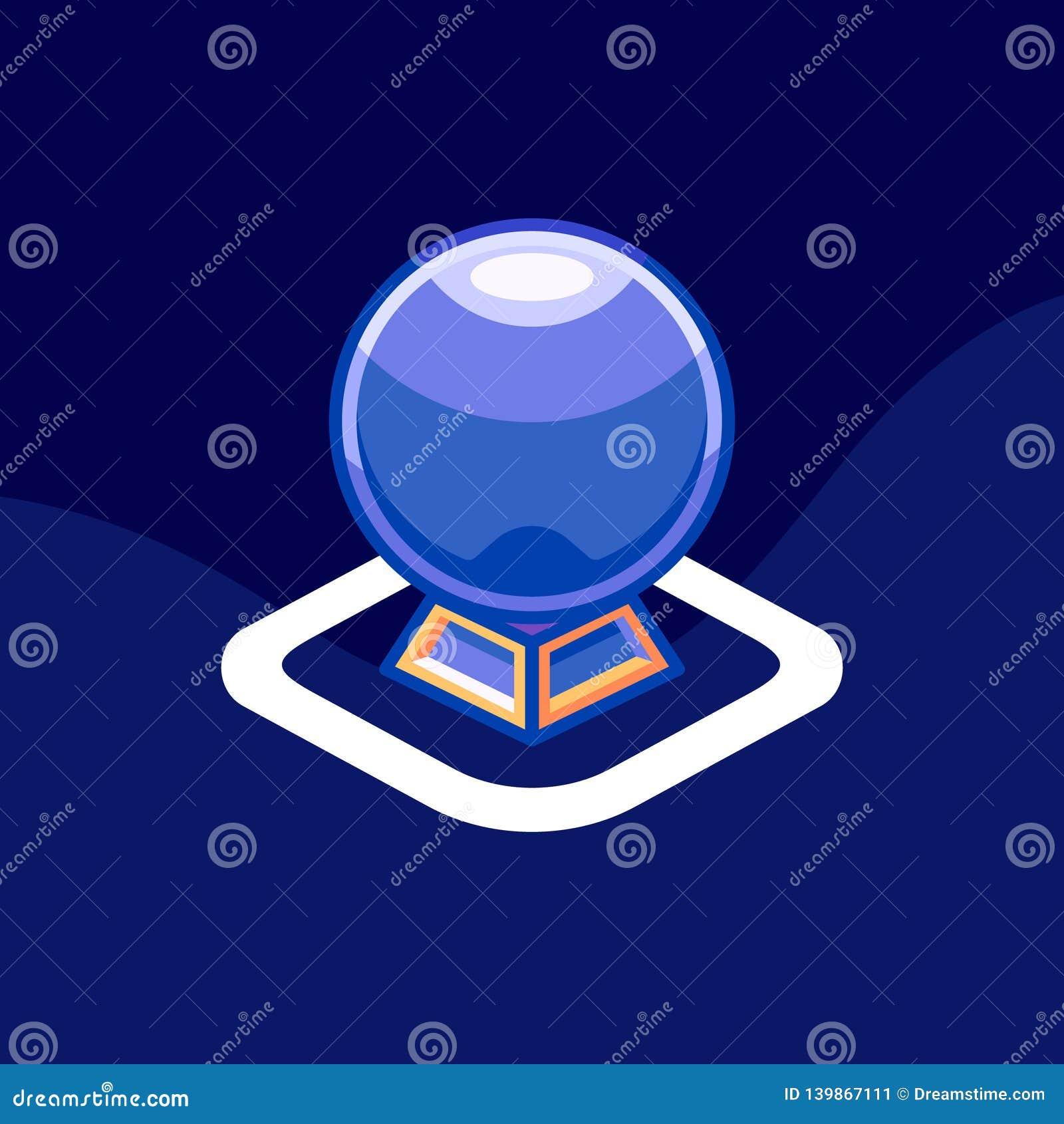 Horoskopsymbol/logo Konstillustration
