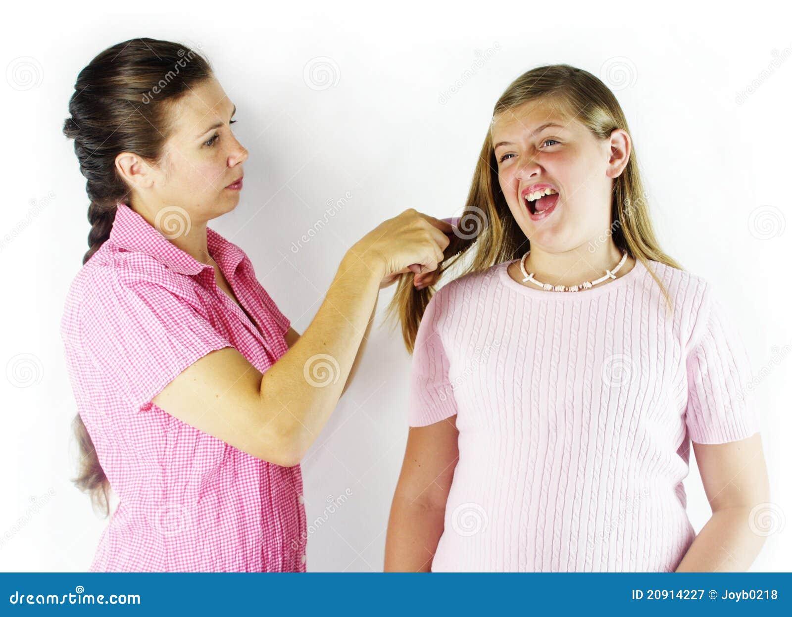 Horrible Hair Brushing