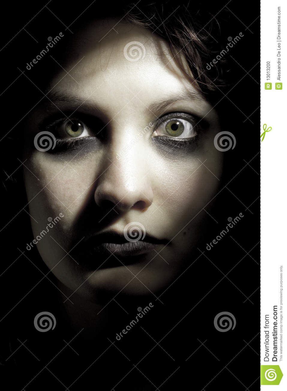 Horror Girl Stock Photo Image 13013200