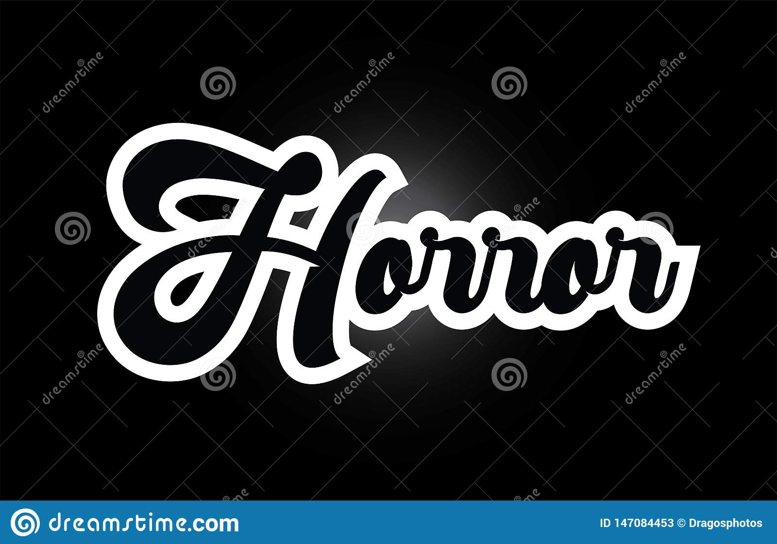 Black And White Horror Hand Written Word Text For Typography Logo Icon Design Stock Illustration Illustration Of Word Black 147084453,Typography Logo Design Inspiration
