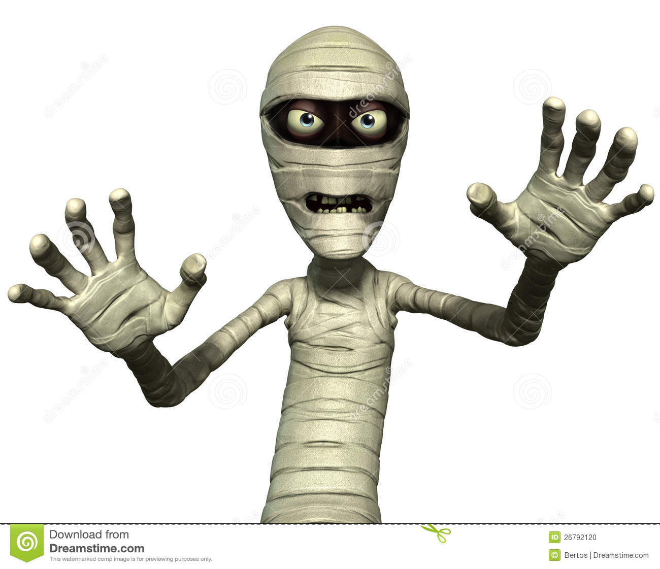 Horror Mummy Stock Photo - Image: 26792120