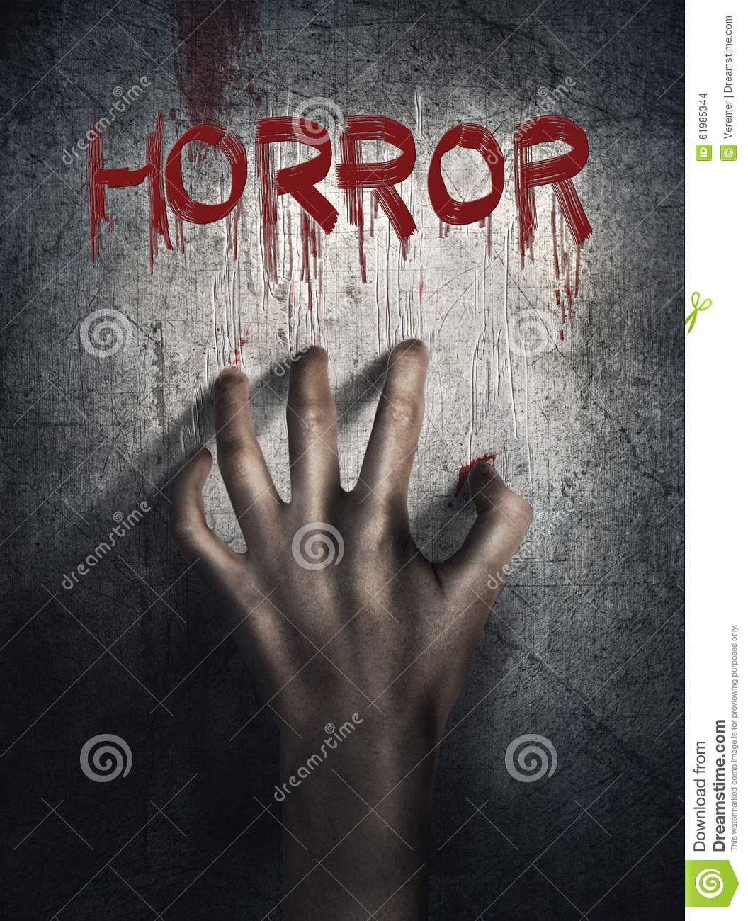 Download Horror Scene. Hand On Wall Backround. Poster, Cover Concept. Stock Photo - Image of cell, convict: 61985344