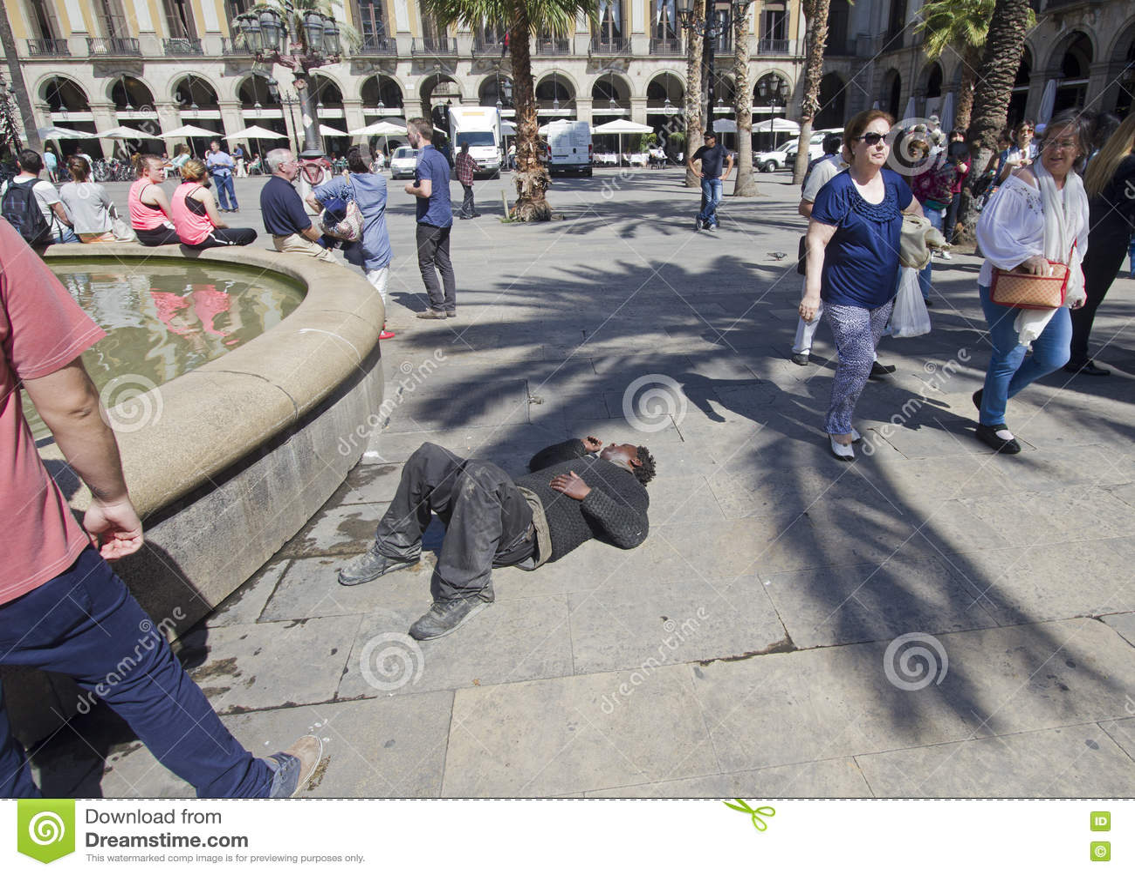 Hors jeu à Barcelone