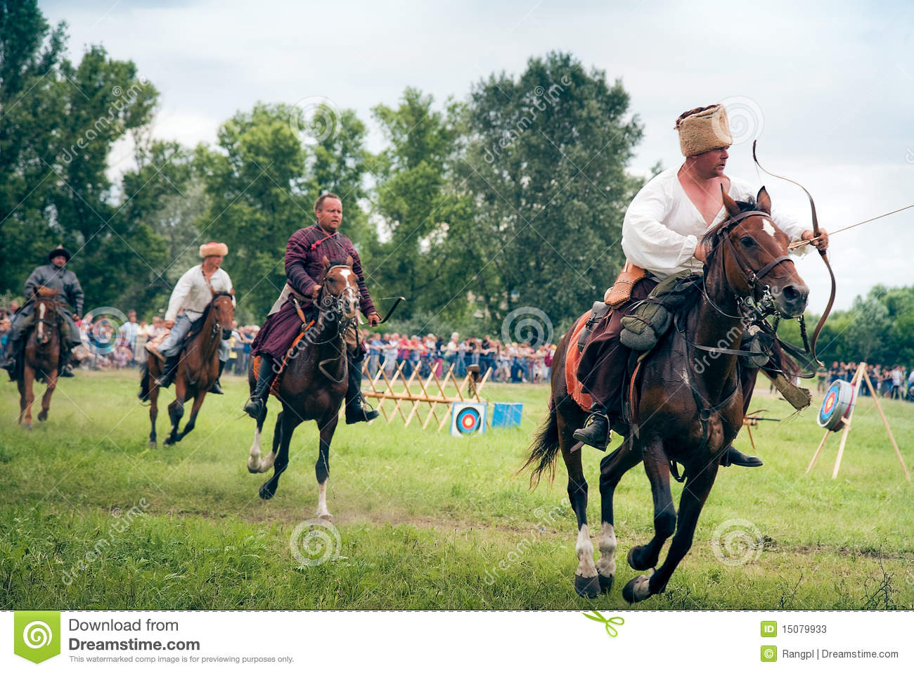 Horse Archers Editorial Stock Photo Image 15079933