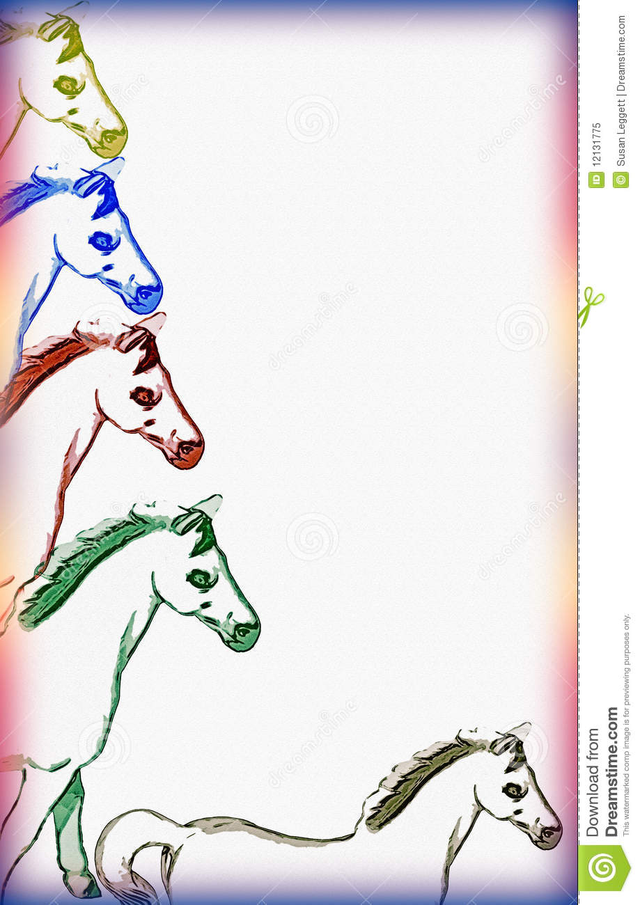 Horse Borders For Word