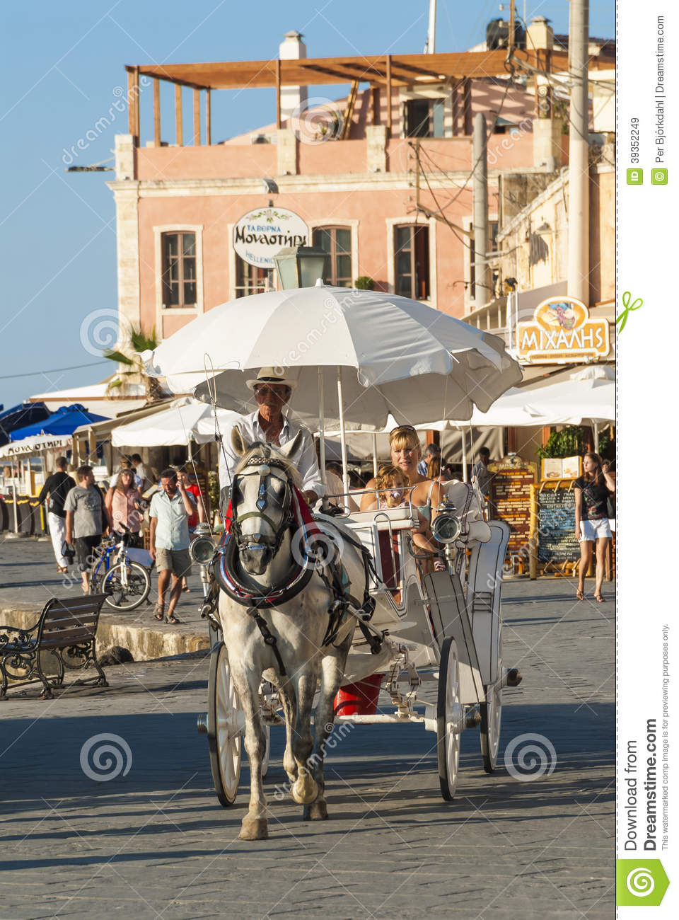 Horse carriage ride Chania