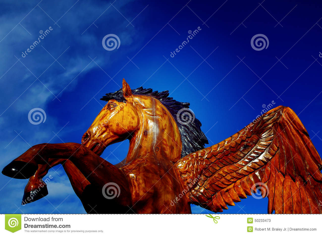 Download Horse Chain Saw Carving editorial stock photo. Image of chetwind - 50233473