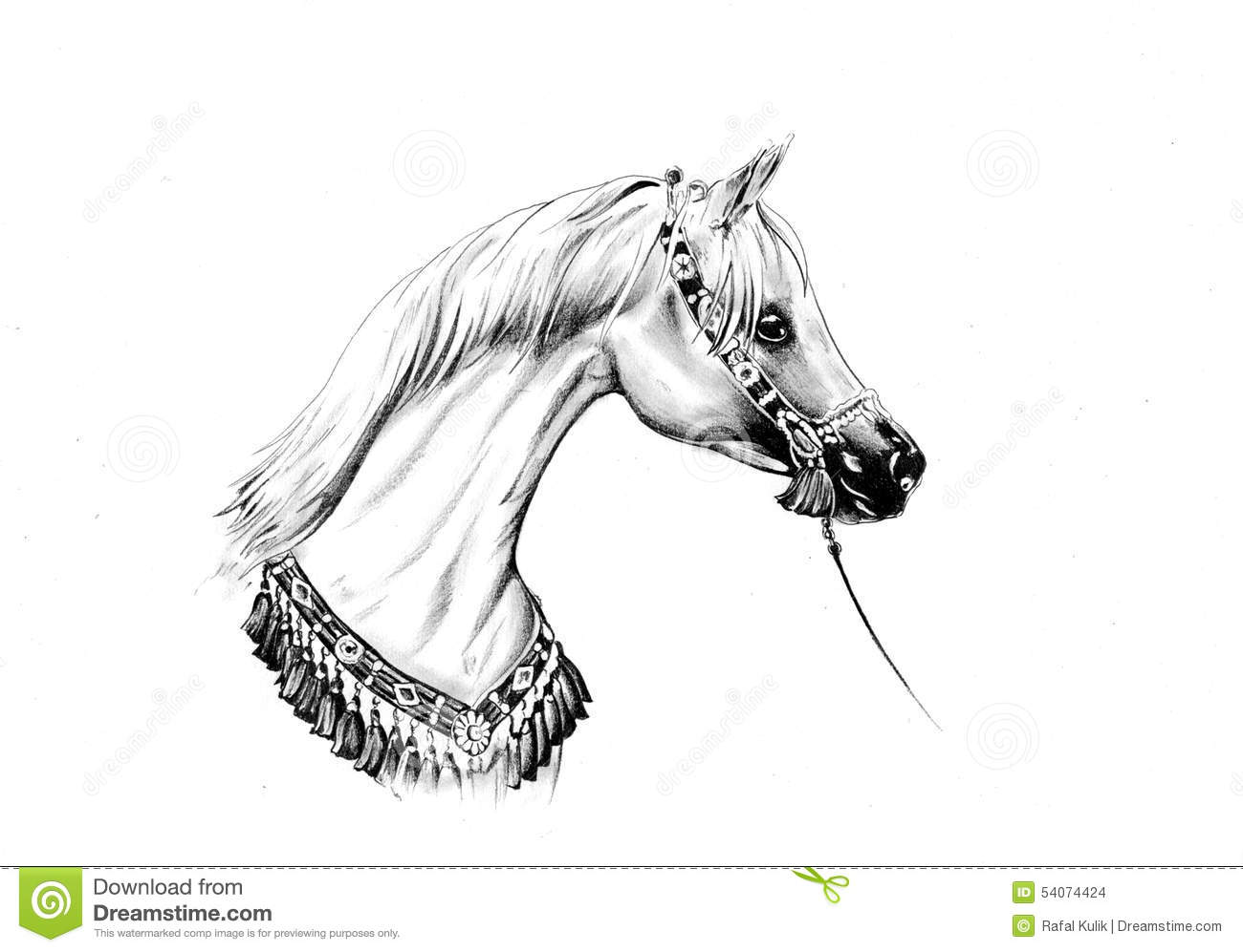 Notebook And Pen Sketch Stock Vector Art More Images Of: Horse Drawing Sketch Art Handmade Stock Illustration