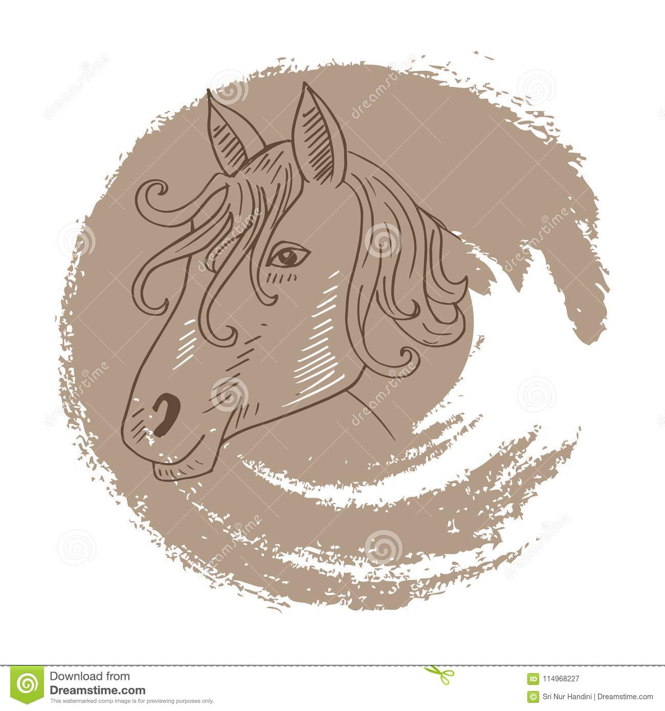 Horse Face Drawing Stock Illustrations 3 220 Horse Face Drawing Stock Illustrations Vectors Clipart Dreamstime