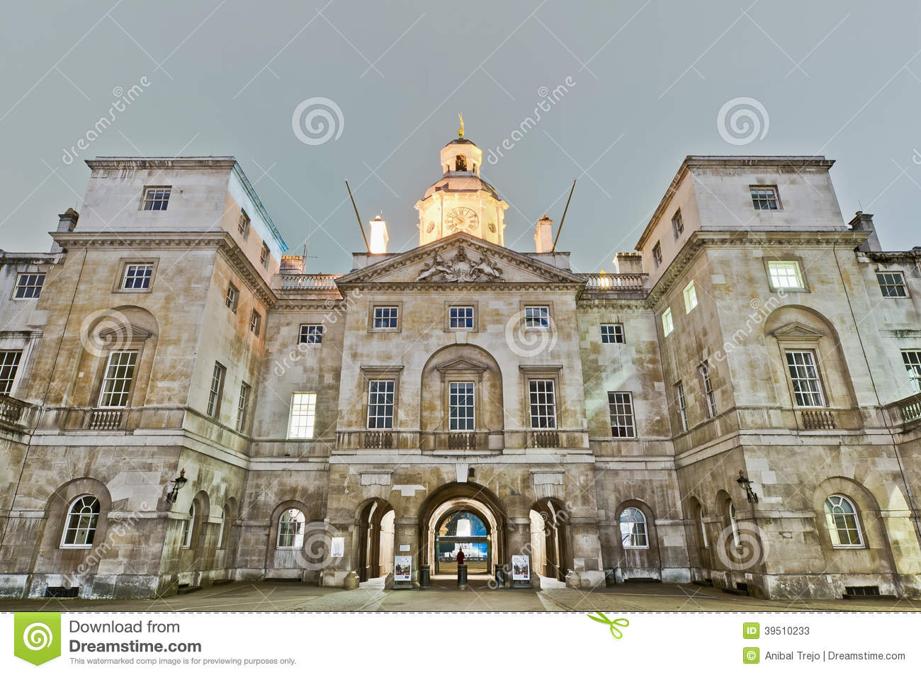 Horse Guards at London, England