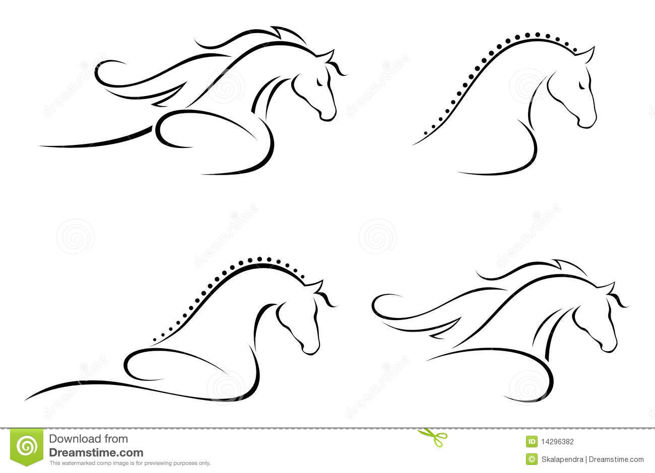 Horse Head Stock Photography Image 14296382