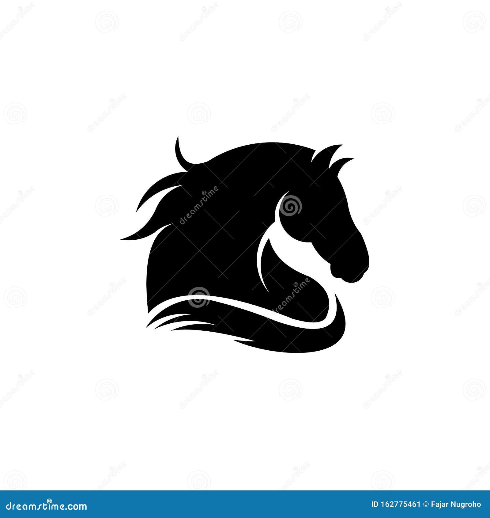 Inspiration Logo Vector Animal Horse Head Stock Vector Illustration Of Bronco Mustang 162775461