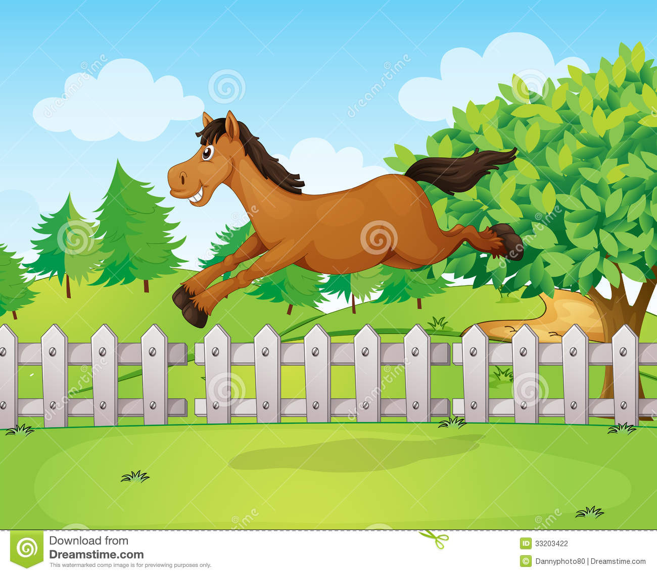 how to draw a horse jumping over a jump