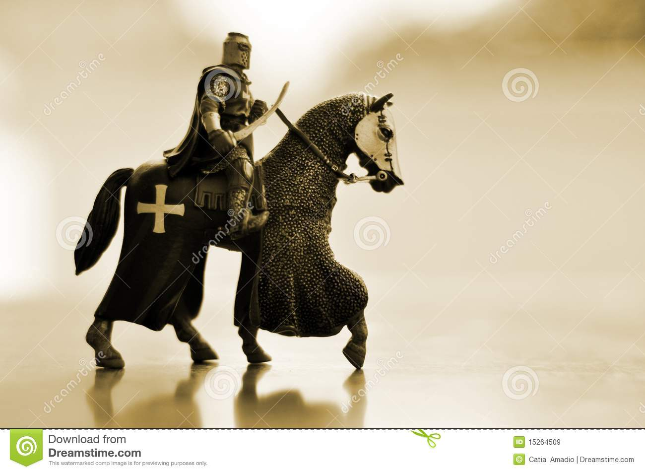 Horse Knight Royalty Free Stock Images - Image: 15264509