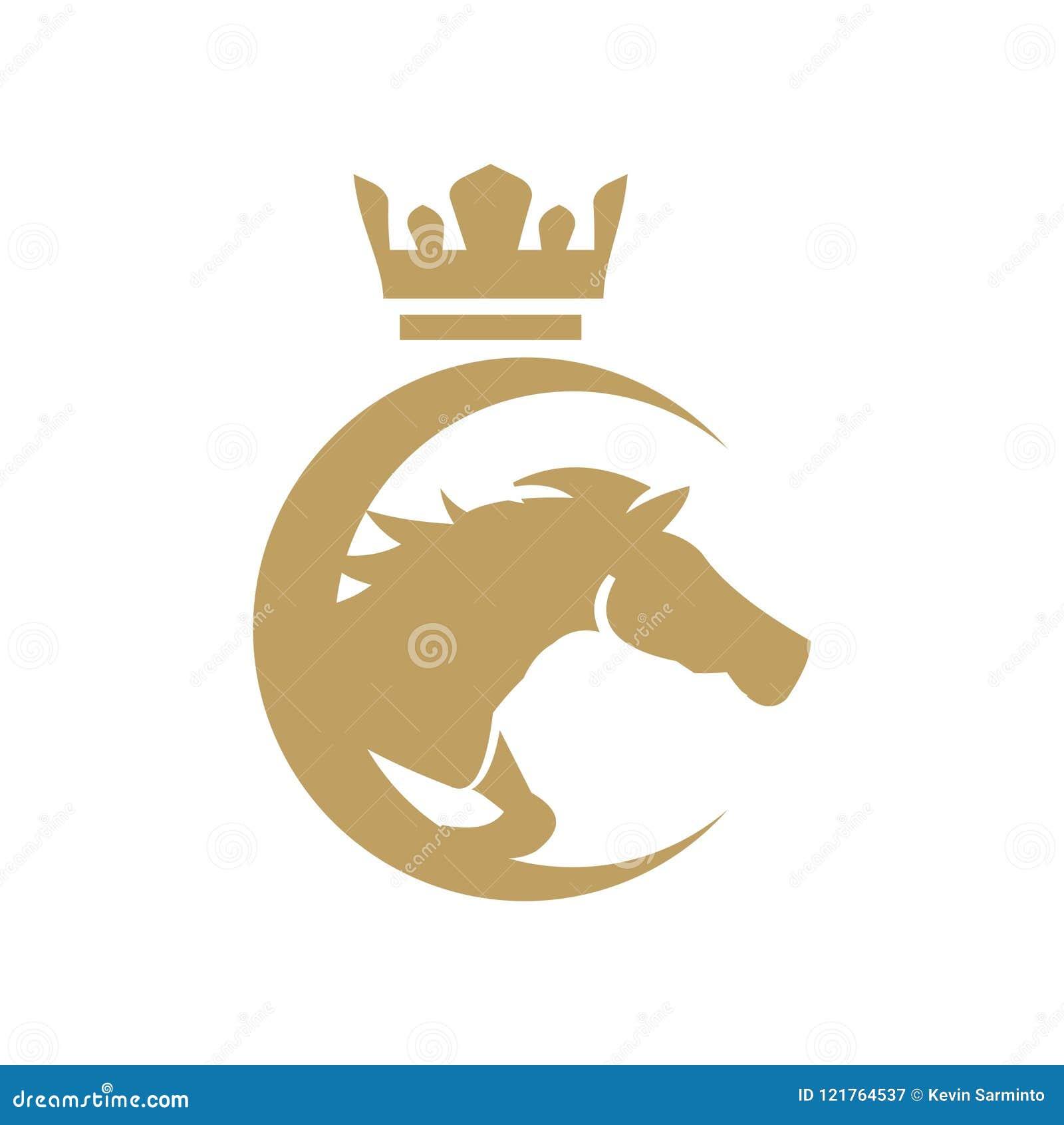 Horse Logo Design Inspiration Stock Vector Illustration Of Drawing Design 121764537