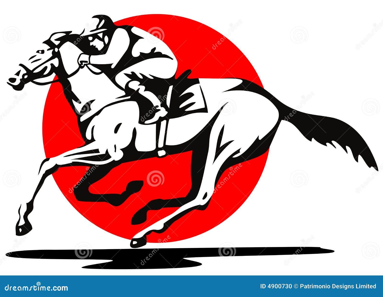 Horse Racing Clip Art Horse racing