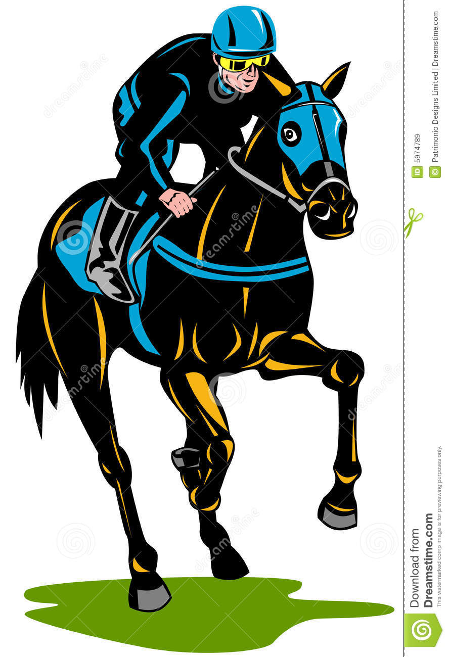 Horse racing clip art pictures - Free Horse Clip Art m