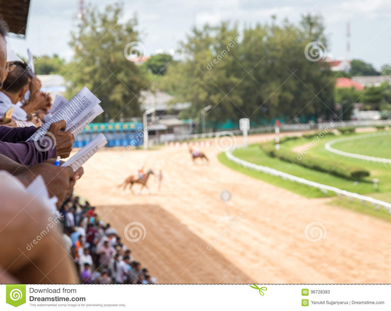 Horse racing game bet stock image  Image of competitor - 96728383