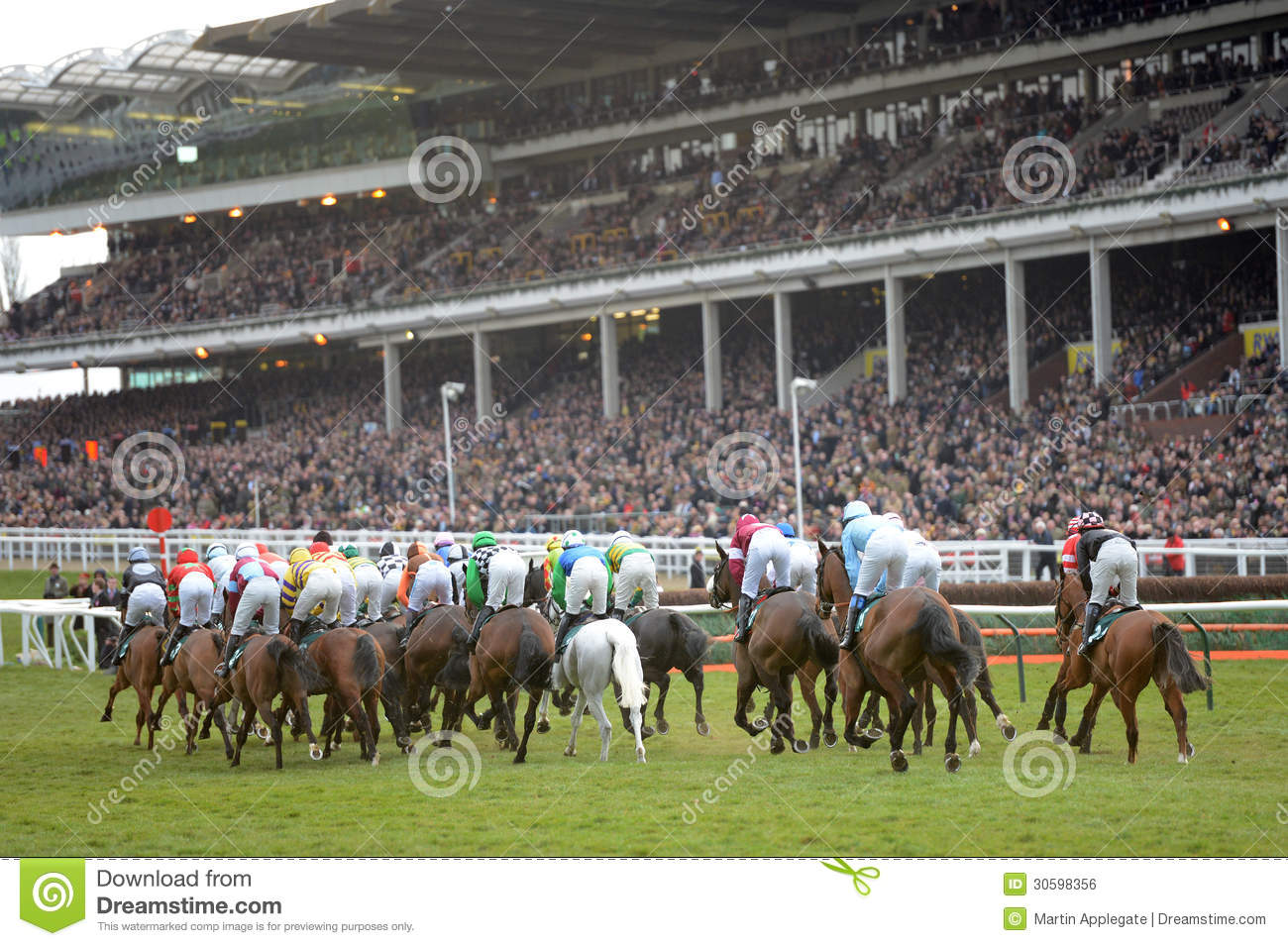 Trade Stands Cheltenham Festival : Horse racing editorial photo image