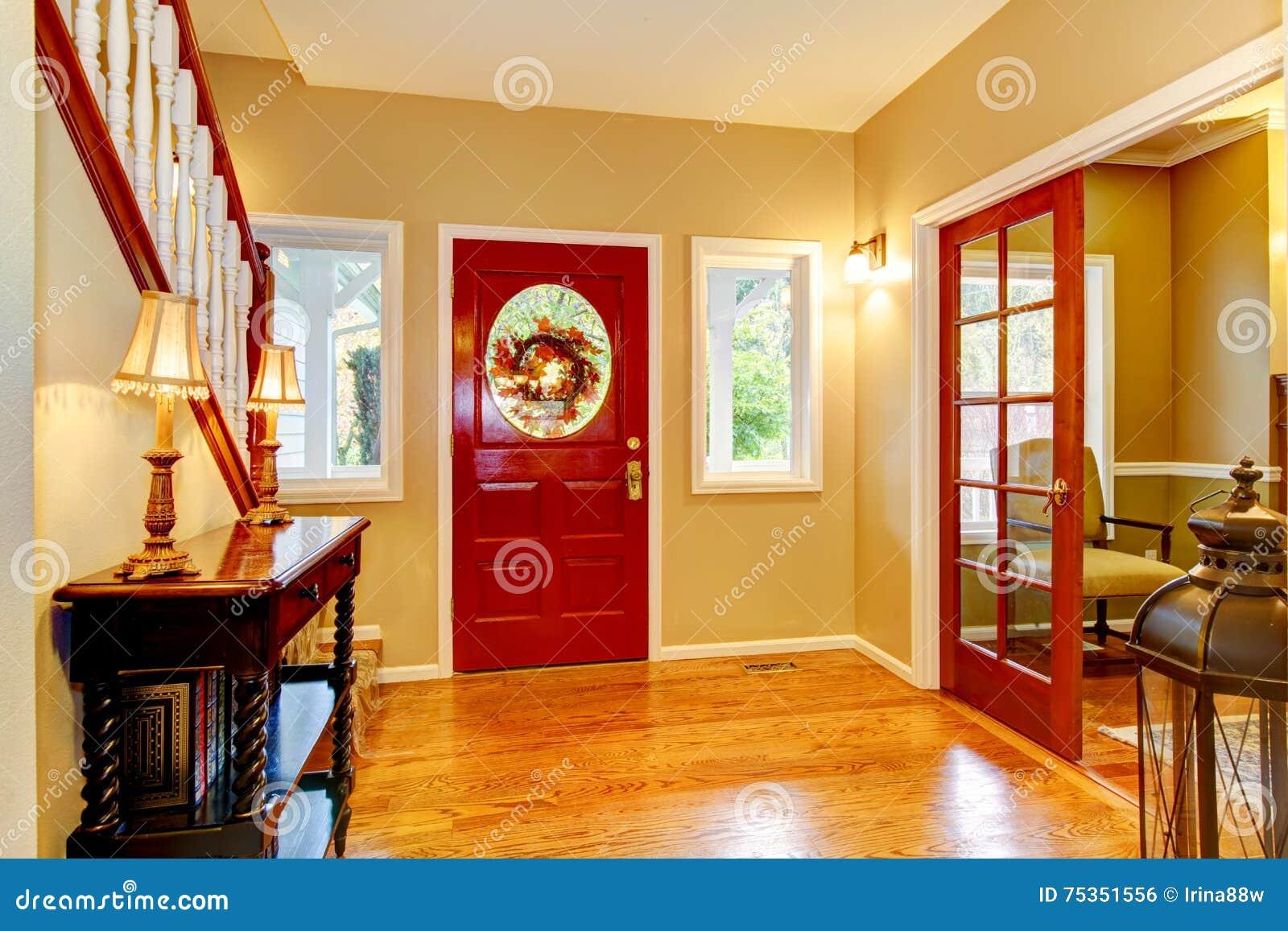 Foyer Bonfire Locked Door : Door and floor royalty free stock photo cartoondealer