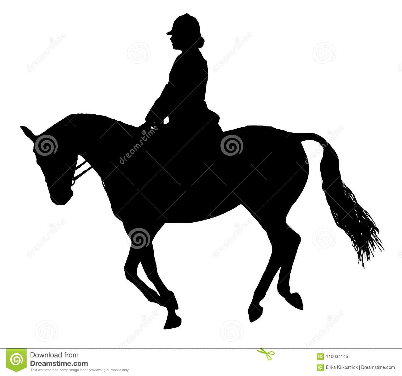 Horse Rider Silhouette Stock Illustrations 3 814 Horse Rider Silhouette Stock Illustrations Vectors Clipart Dreamstime