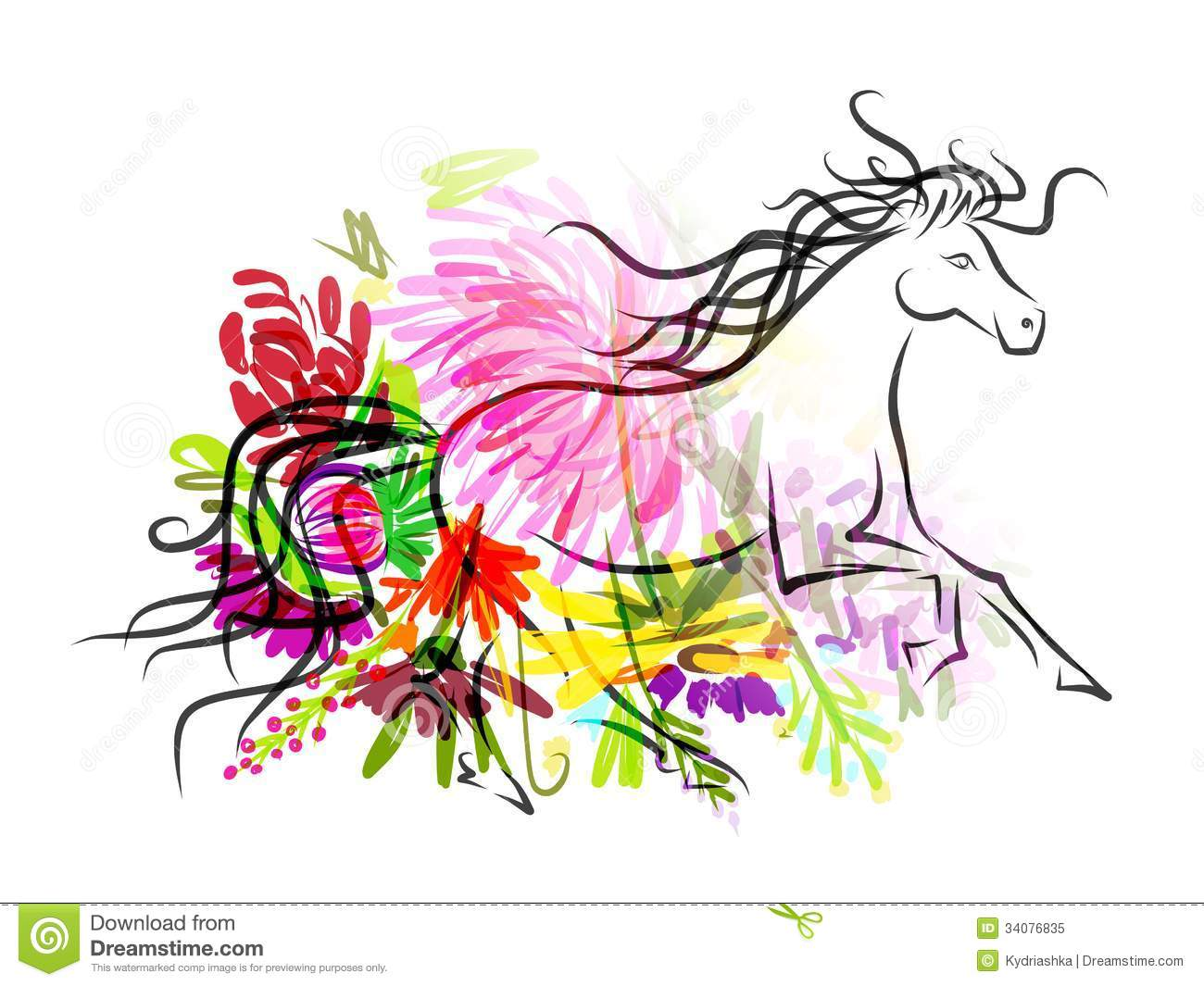 Horse Head Sketch Floral Decoration Your Stock Illustrations 20 Horse Head Sketch Floral Decoration Your Stock Illustrations Vectors Clipart Dreamstime