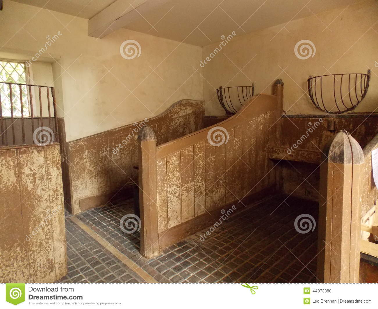 Horse Stable Stock Photo Image 44373880