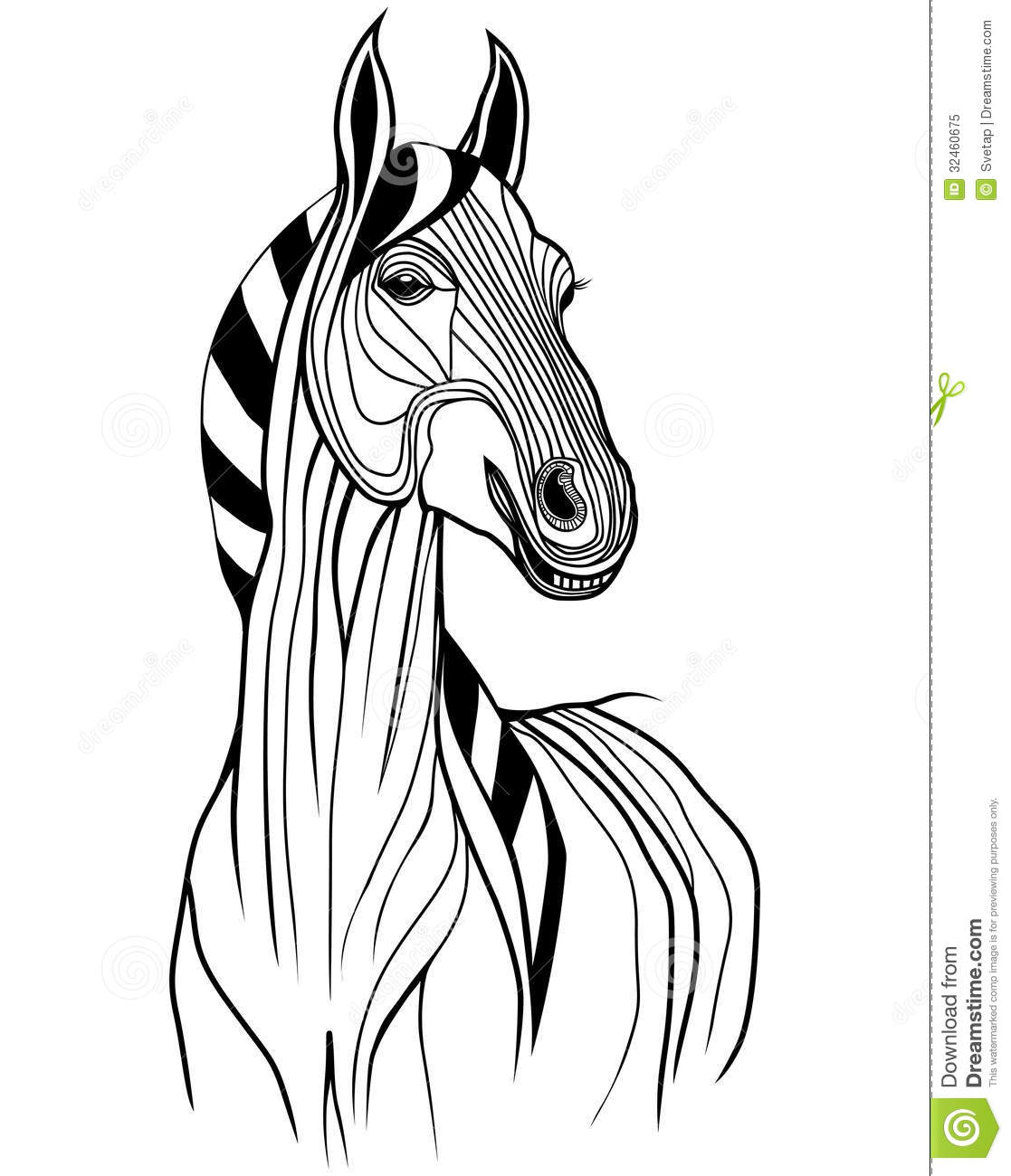 Horse Symbol Vector Royalty Free Stock Photo Image 32460675