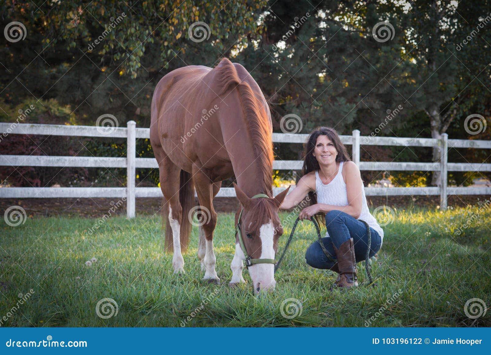 Horse Woman