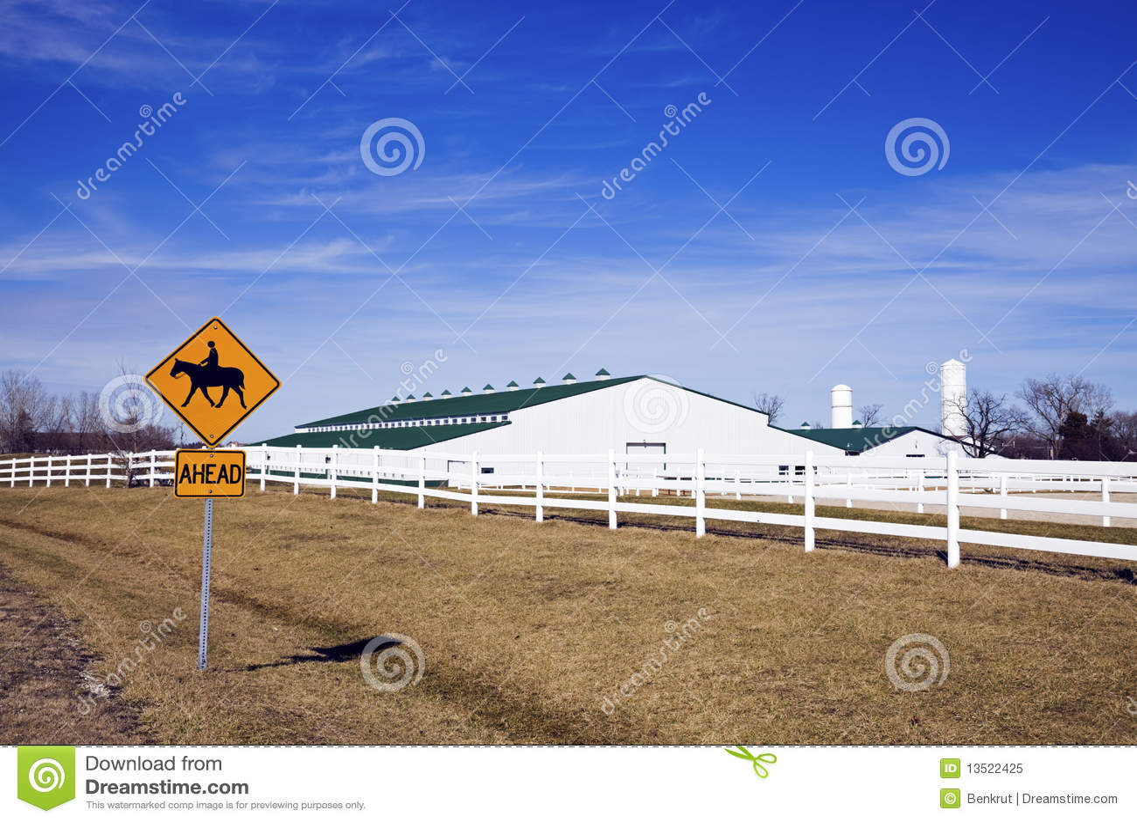 horseback riding sign royalty free stock photo image