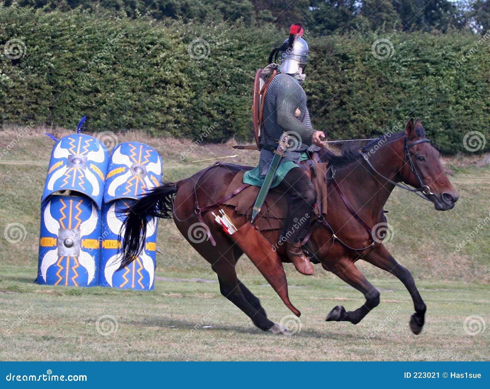 Horsemann romano sull obiettivo