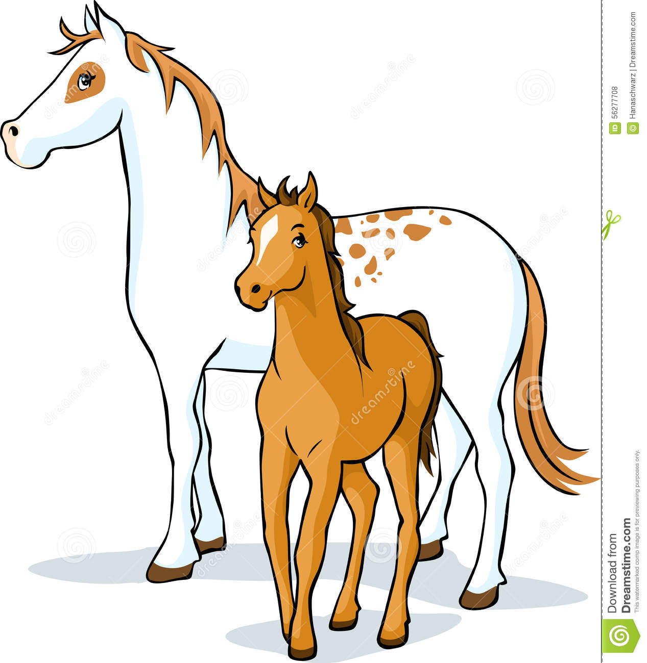 horses mare and foal  vector stock vector illustration horse racing clip art images horse racing clipart