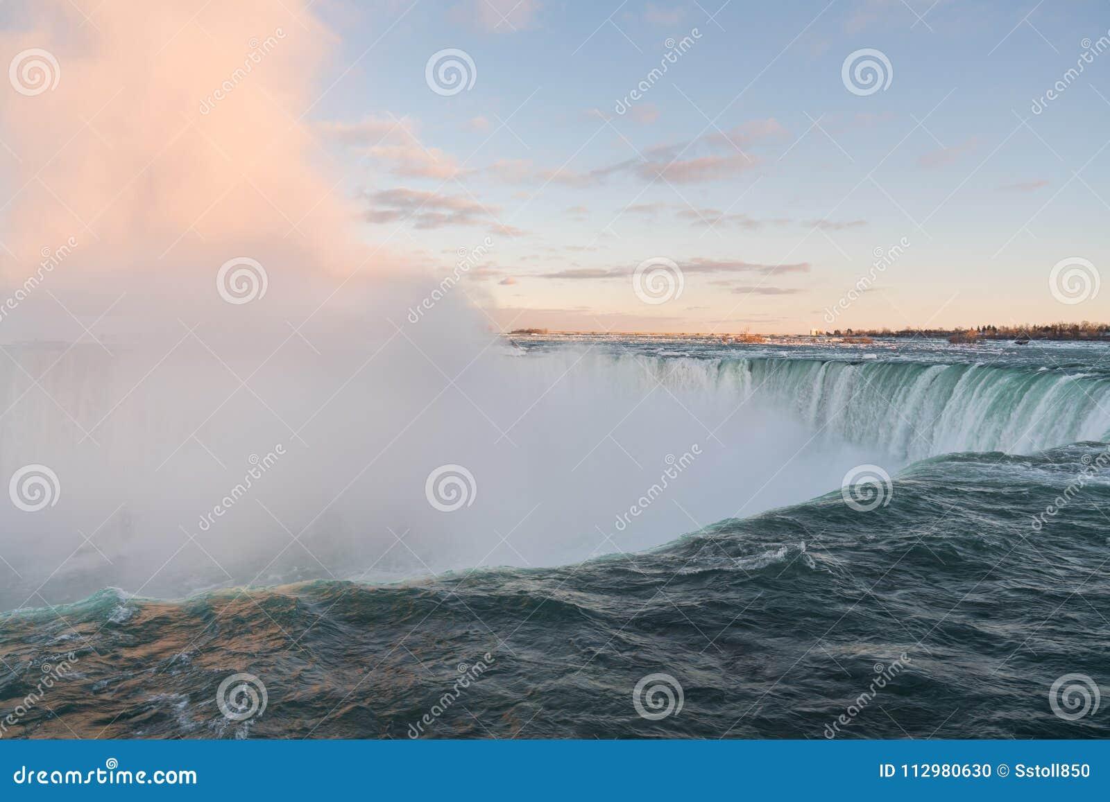 Horseshoe Falls at Niagara Falls up close