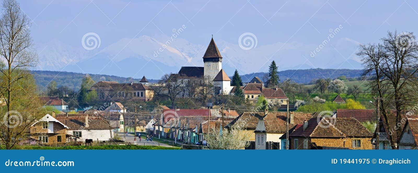 Hosman χωριό της Ρουμανίας Τραν&si